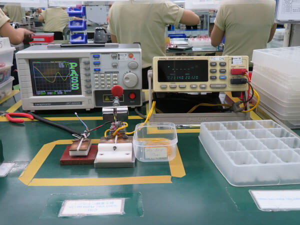レアショート試験 耐電圧試験