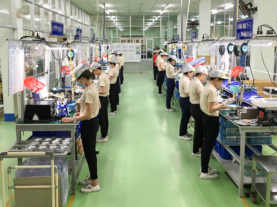 A factory in Vietnam